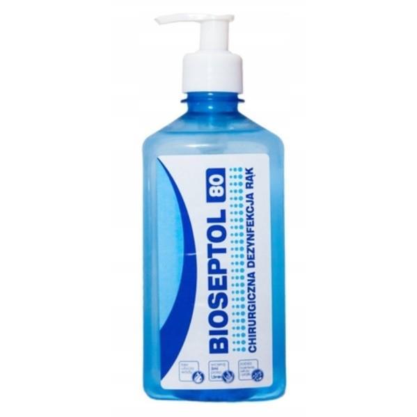 """BIOSEPTOL 80 """"250ML"""" - płyn do dezynfekcji rąk-133"""